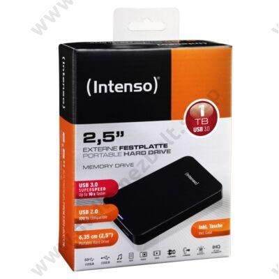 INTENSO USB 3.0 HDD 2,5 MEMORY DRIVE 1TB FEKETE