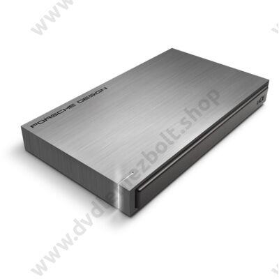 LACIE PORSCHE DESIGN SLIM DRIVE 2,5 COL USB 3.0 KÜLSŐ MEREVLEMEZ 500GB SZÜRKE