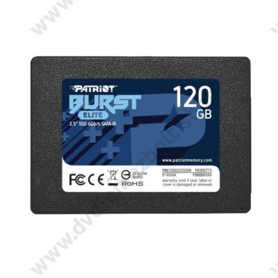 PATRIOT BURST ELITE 2,5 COL MÉRETÚ SATA III 450/320 MB/s 7mm SSD MEGHAJTÓ 120GB