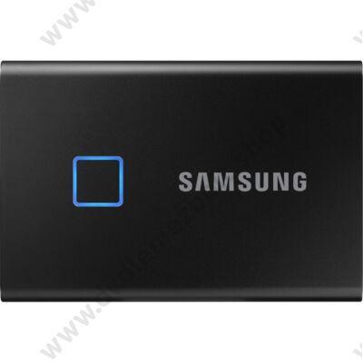 SAMSUNG T7 TOUCH USB 3.2 KÜLSŐ SSD MEGHAJTÓ 2TB FEKETE