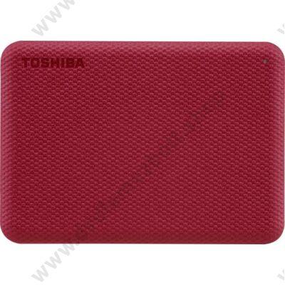TOSHIBA CANVIO ADVANCE 2,5 COL USB 3.2 GEN 1 KÜLSŐ MEREVLEMEZ 2TB PIROS