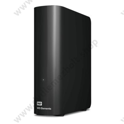 WESTERN DIGITAL ELEMENTS DESKTOP 3,5 COL USB 3.0 KÜLSŐ MEREVLEMEZ 8TB FEKETE