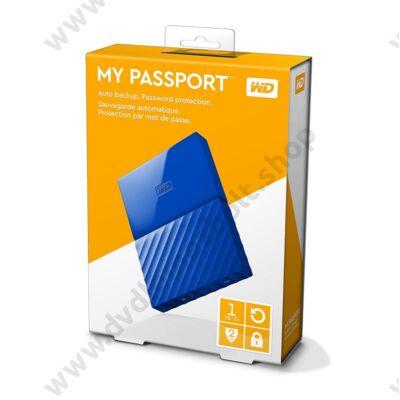 WESTERN DIGITAL MY PASSPORT USB 3.0 HDD 2,5 KÉK 1TB