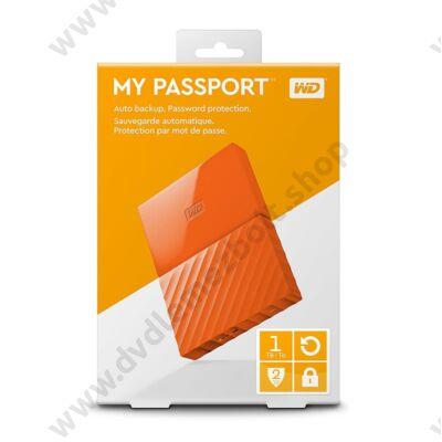 WESTERN DIGITAL MY PASSPORT USB 3.0 HDD 2,5 NARANCSSÁRGA 1TB