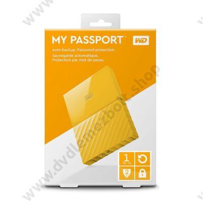 WESTERN DIGITAL MY PASSPORT USB 3.0 HDD 2,5 SÁRGA 1TB