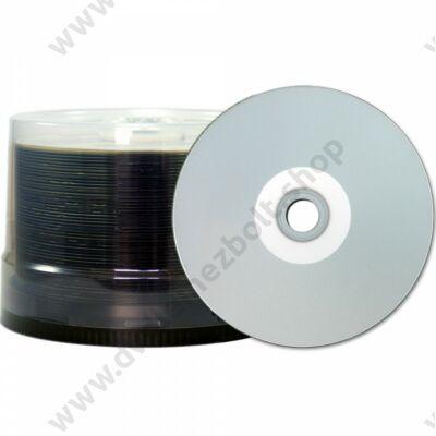 JVC CD-R 48X FULL NYOMTATHATÓ INKJET SILVER FÉNYES VÍZÁLLÓ TAIYO YUDEN (MADE IN JAPAN) CAKE (50)