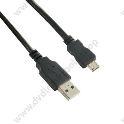 4WORLD MICRO USB KÁBEL 1,8m FEKETE