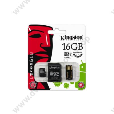 KINGSTON MOBILITY KIT 16GB CLASS 10
