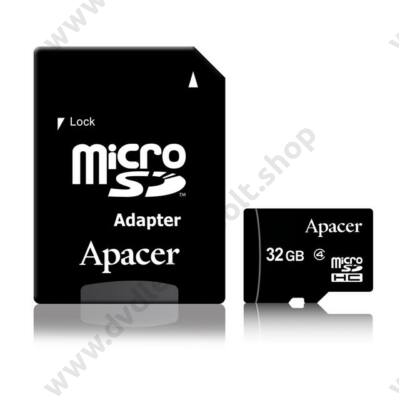 APACER MICRO SDHC 32GB + ADAPTER CLASS 4
