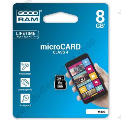 GOODRAM MICRO SDHC 8GB CLASS 4