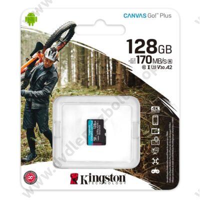 KINGSTON CANVAS GO PLUS MICRO SDXC 128GB CLASS 10 UHS-I U3 A2 V30 170/90 MB/s