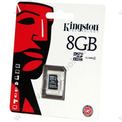 KINGSTON MICRO SDHC 8GB CLASS 4