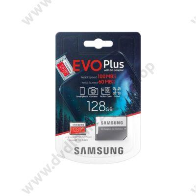 SAMSUNG EVO PLUS (2020) MICRO SDXC 128GB + ADAPTER CLASS 10 UHS-I U3 100/60 MB/s