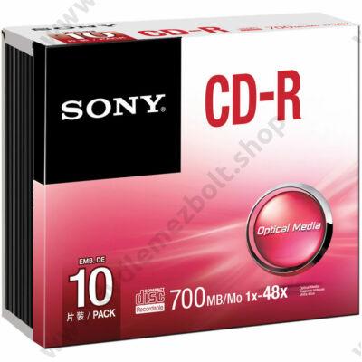 SONY CD-R 48X SLIM TOKBAN (10)