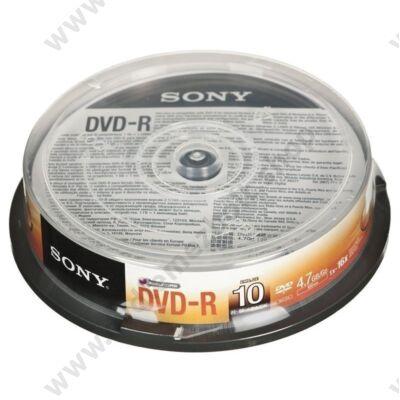 SONY DVD-R 16X CAKE (10)