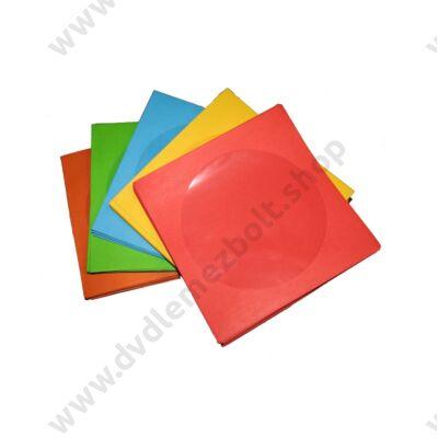 CD/DVD PAPÍRTOK SZÍNES 100 DB-OS