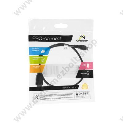 TRACER MICRO USB KÁBEL 0,5m FEKETE