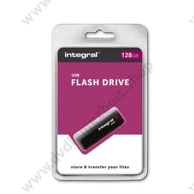 INTEGRAL USB 2.0 PENDRIVE 128GB FEKETE