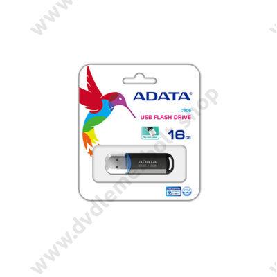 ADATA USB 2.0 PENDRIVE CLASSIC C906 16GB FEKETE