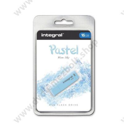 INTEGRAL USB 2.0 PENDRIVE PASZTELL KÉK 16GB
