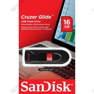 SANDISK USB 2.0 PENDRIVE CRUZER GLIDE 16GB