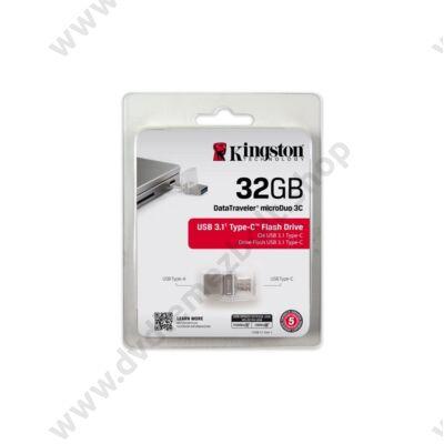 KINGSTON USB 3.1 DATATRAVELER MICRODUO 3C 32GB