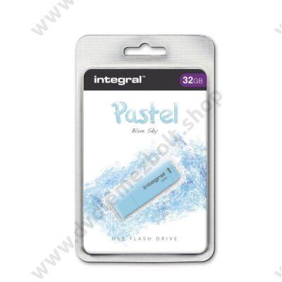 INTEGRAL USB 2.0 PENDRIVE PASZTELL KÉK 32GB