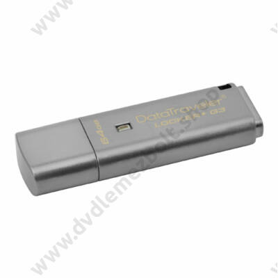 KINGSTON USB 3.0 DATATRAVELER LOCKER+ G3 64GB