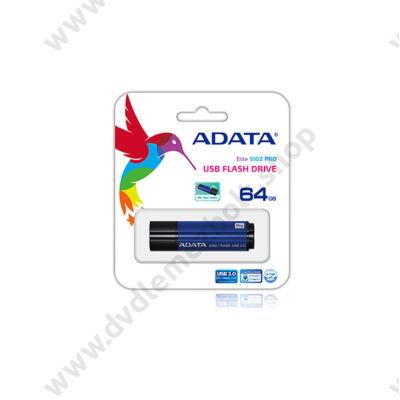 ADATA USB 3.0 DASHDRIVE ELITE S102 PRO ADVANCED 64GB KÉK