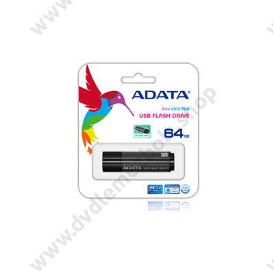 ADATA USB 3.0 DASHDRIVE ELITE S102 PRO ADVANCED 64GB TITANIUM