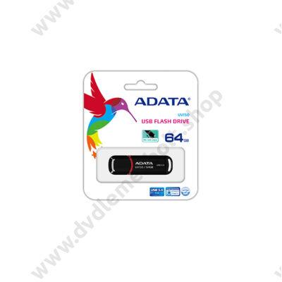 ADATA USB 3.0 DASHDRIVE CLASSIC UV150 64GB FEKETE