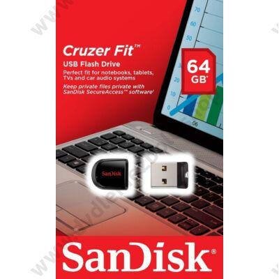SANDISK USB 2.0 CRUZER FIT PENDRIVE 64GB