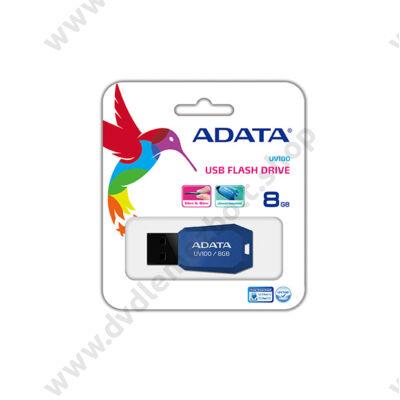 ADATA USB 2.0 PENDRIVE SLIM UV100 8GB KÉK