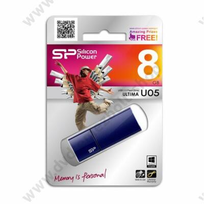 SILICON POWER ULTIMA U05 USB 2.0 PENDRIVE 8GB