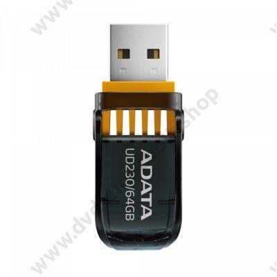 ADATA UD230 USB 2.0 PENDRIVE 64GB FEKETE