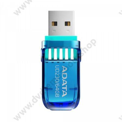 ADATA UD230 USB 2.0 PENDRIVE 64GB KÉK