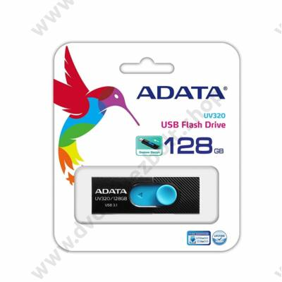 ADATA UV320 USB 3.1 PENDRIVE 128GB FEKETE/KÉK