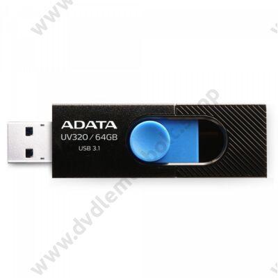 ADATA UV320 USB 3.1 PENDRIVE 64GB FEKETE/KÉK