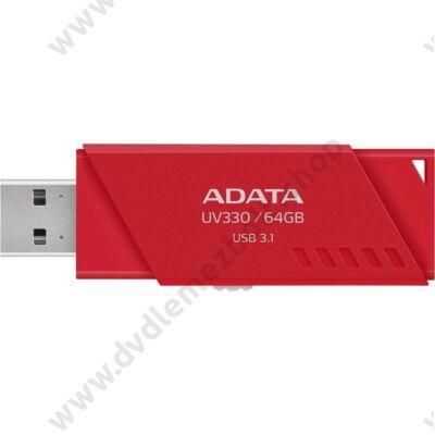ADATA UV330 USB 3.1 PENDRIVE 64GB PIROS