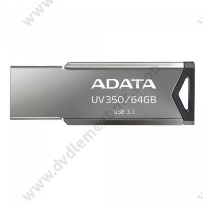 ADATA UV350 USB 3.1 PENDRIVE 64GB EZÜST