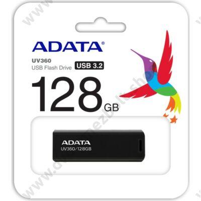 ADATA UV360 USB 3.2 GEN 1 PENDRIVE 128GB FEKETE
