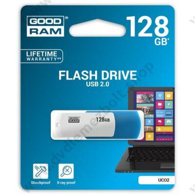 GOODRAM UCO2 USB 2.0 PENDRIVE 128GB KÉK/FEHÉR