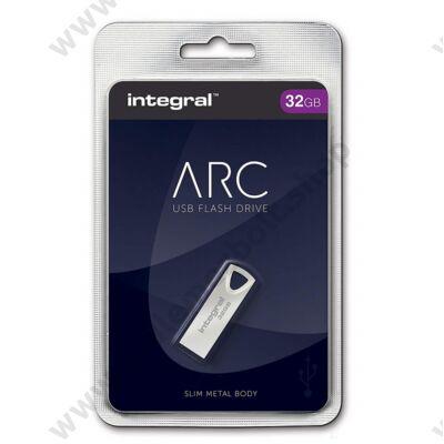 INTEGRAL ARC FÉMHÁZAS USB 2.0 PENDRIVE 32GB