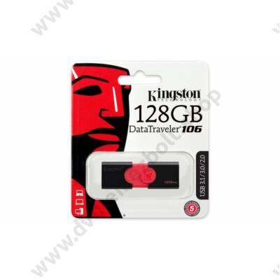 KINGSTON USB 3.0 PENDRIVE DATATRAVELER 106 128GB