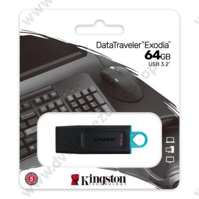 KINGSTON DATATRAVELER EXODIA USB 3.2 GEN 1 PENDRIVE 64GB