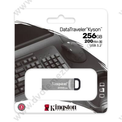 KINGSTON DATATRAVELER KYSON USB 3.2 GEN 1 PENDRIVE 256GB