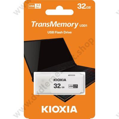 KIOXIA TRANSMEMORY U301 USB 3.2 GEN 1 PENDRIVE 32GB FEHÉR