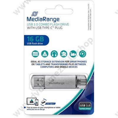 MEDIARANGE USB 3.0/USB-C PENDRIVE 16GB MR935