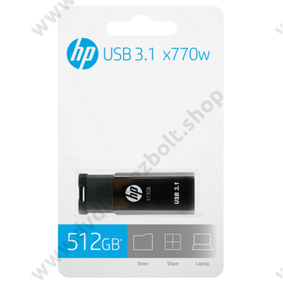 HP X770W USB 3.1 PENDRIVE 512GB (400/250 MB/s)