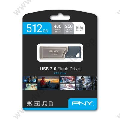 PNY PRO ELITE USB 3.0 PENDRIVE 512GB (400/250 MB/s)